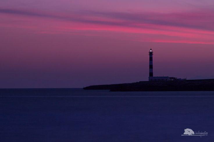 Cap D'Artrutx Lighthouse, Menorca - Spain. For more photos visit www.guiiesandgaardferrer.com