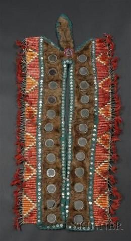 Breastplate, Sioux, quilled