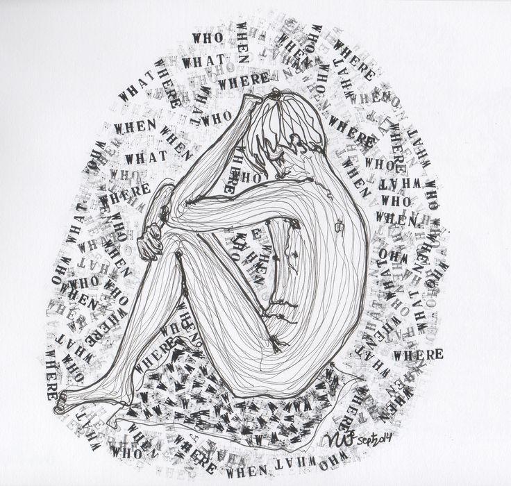 What. When. Where. Who. Life drawing. By Violeta Camarasa
