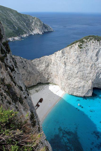 Navagio beach, Zakynthos, Greece Great memories