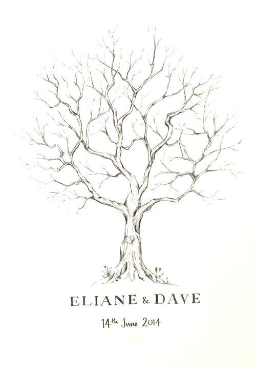 Lizzie Barton: Hand-drawn fingerprint tree                                                                                                                                                     More