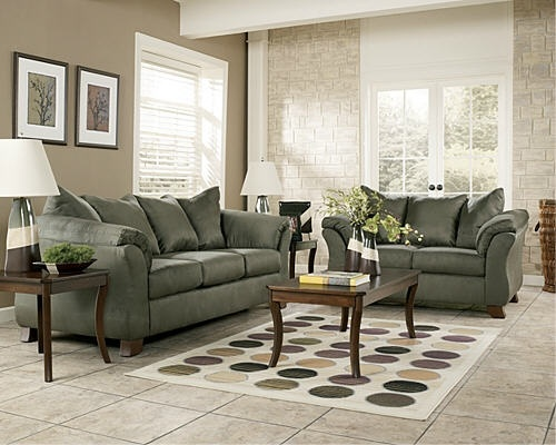 I Think Like This Darker Beige Wall Color With The Sage Furniture Future Home Necessities Such In 2018 Pinterest Living Room And
