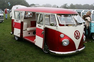 VW Camper Van in RUFC colours - game on!!! http://www.12th-man-solutions.co.uk/
