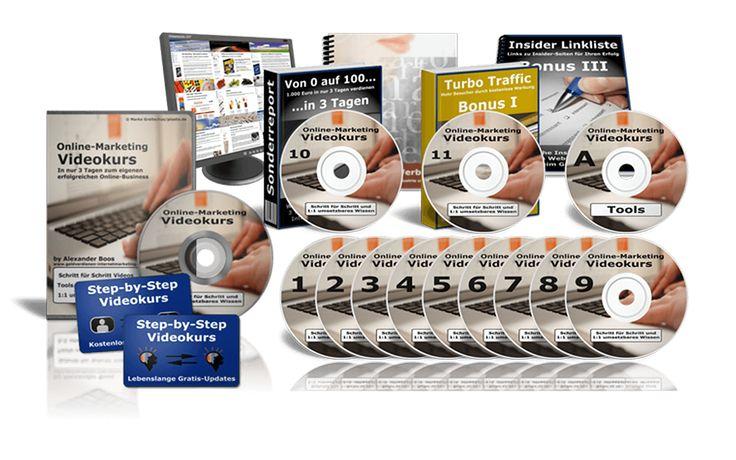 Step-by-Step Online Marketing Videokurs kurz noch um NUR 1 Euro !!   Zum Kurs   …