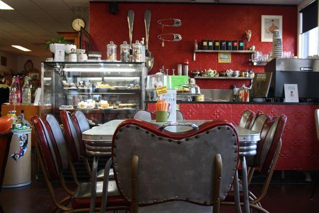50's Style Cafe & WAC Silent Cinema - Woollongabba Antique Centre, Brisbane, Australia