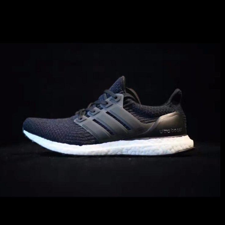 Adidas Ultra Boost 3.0 Triple White Mens 9.5