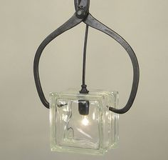 ice block light fixture - Google Search