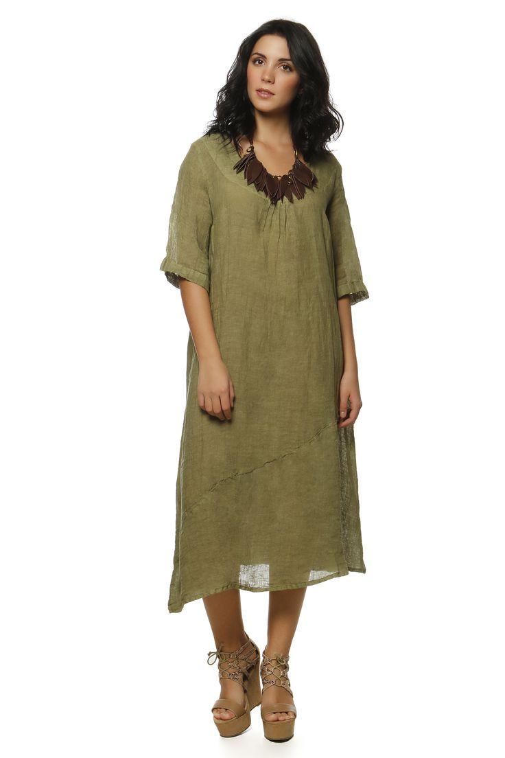 Linen Gauze Dress 1511 http://eshop.hariscotton.gr/