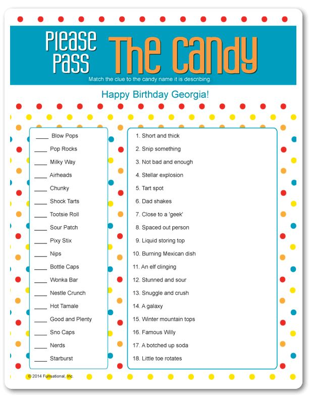 Printable Please Pass The Candy Christmas Candy Pop
