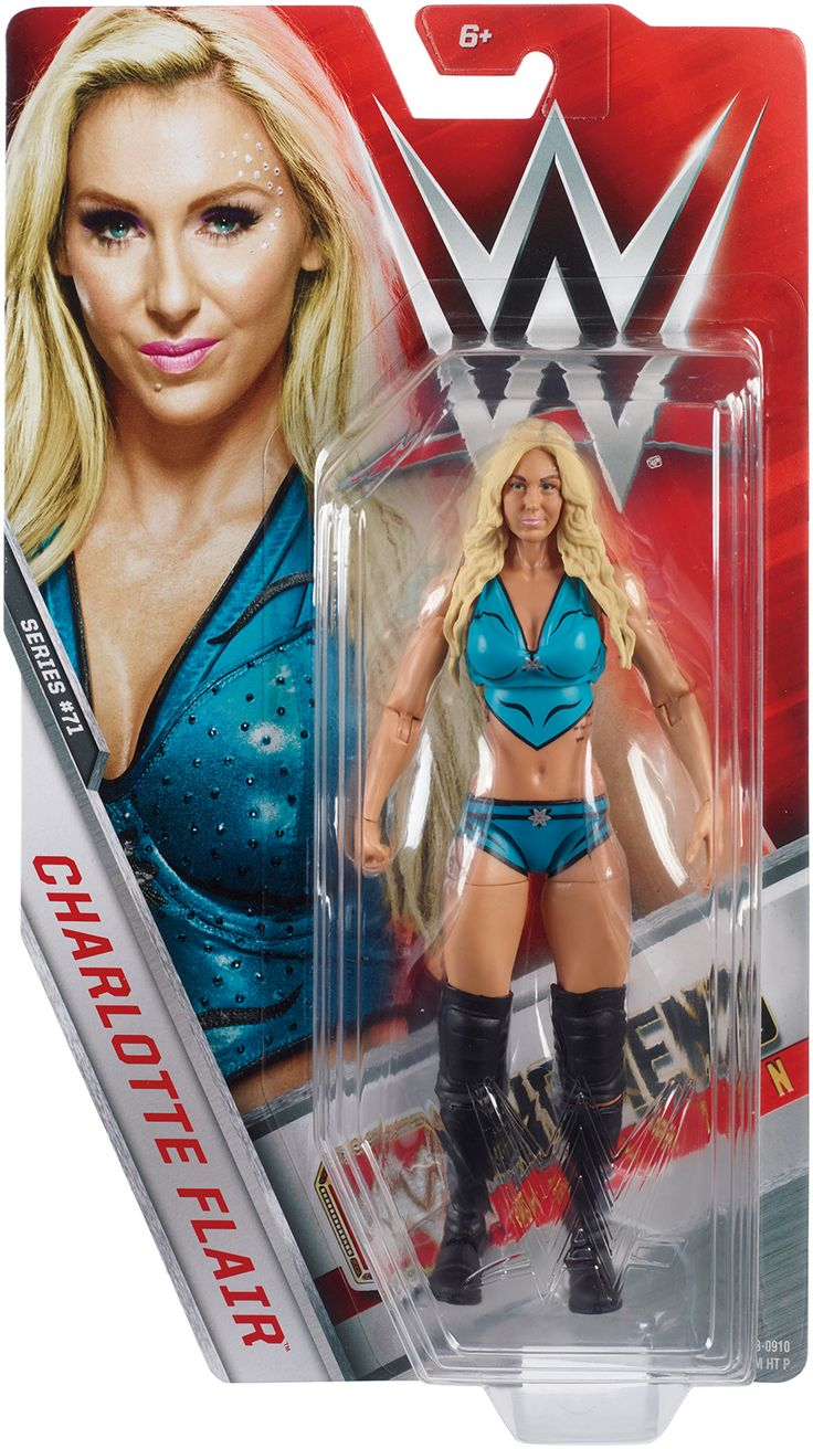 Charlotte - WWE Series 71 Toy Wrestling Action Figure