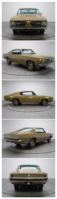 1968 Plymouth Barracuda.  #MoparMuscle