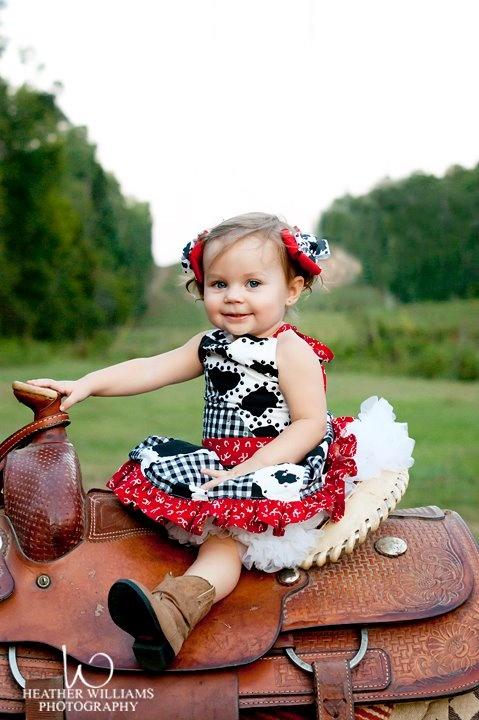 Western Wear made by Alabama Divas on Facebook.