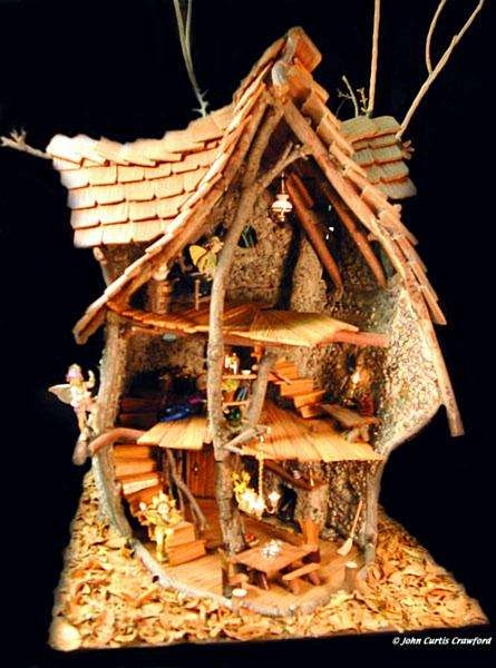 more traditional doll hosue type fairy house