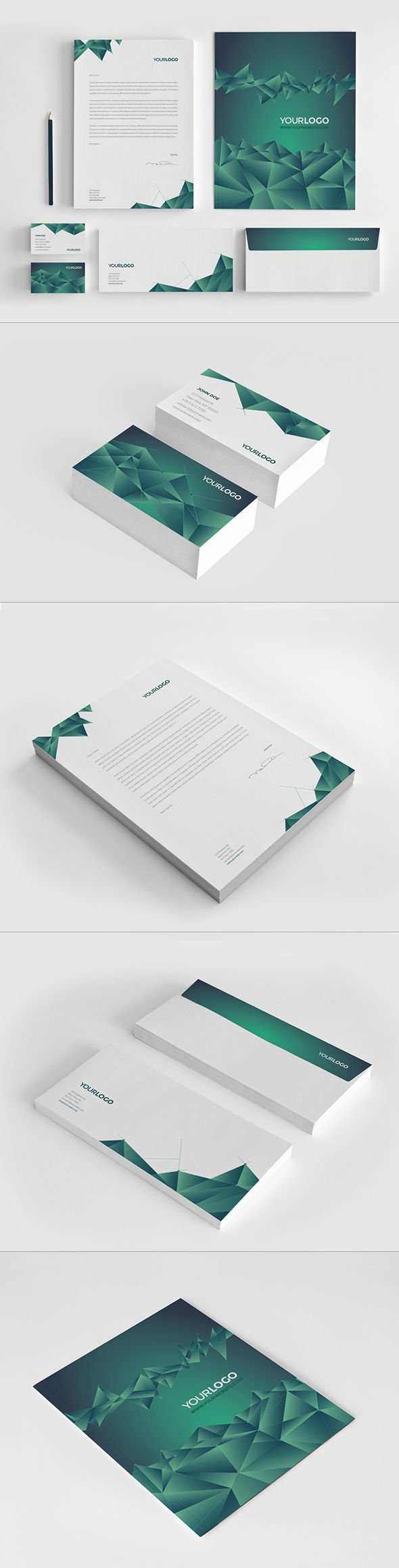 Green Galaxy Stationery. Download here: http://graphicriver.net/item/green-galaxy-stationery/8177390?ref=abradesign?ref=abradesign #design #stationery