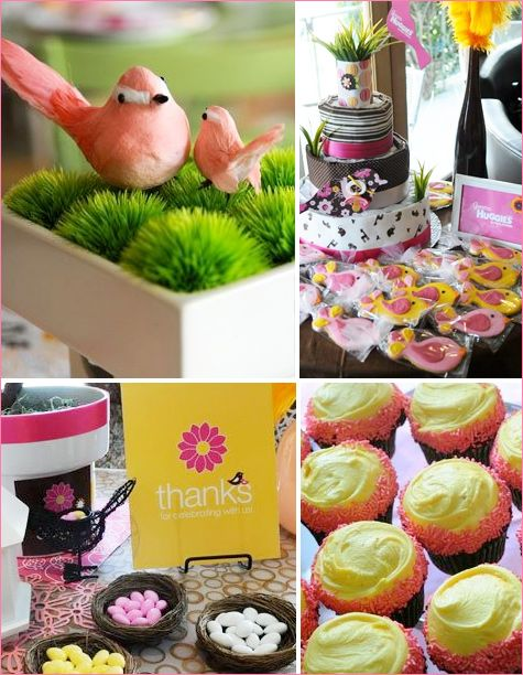 49 best Birds and Bees Baby Shower images on Pinterest Bees - baby shower nia