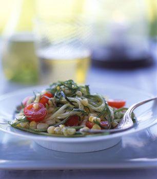 Zucchini, Corn, and Tomato Salad
