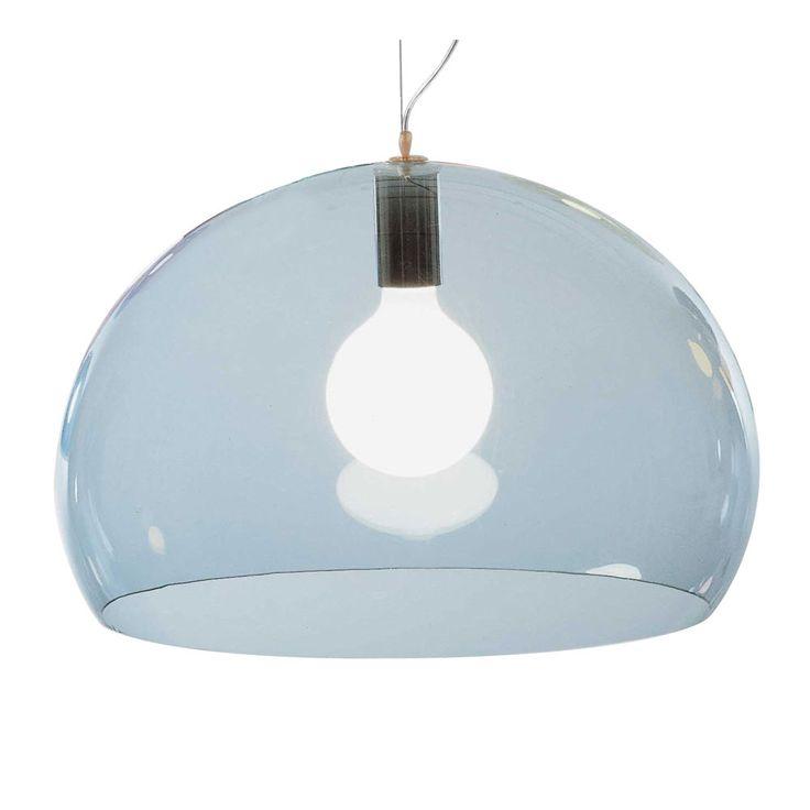 FL/Y lampe, lys blå, Kartell
