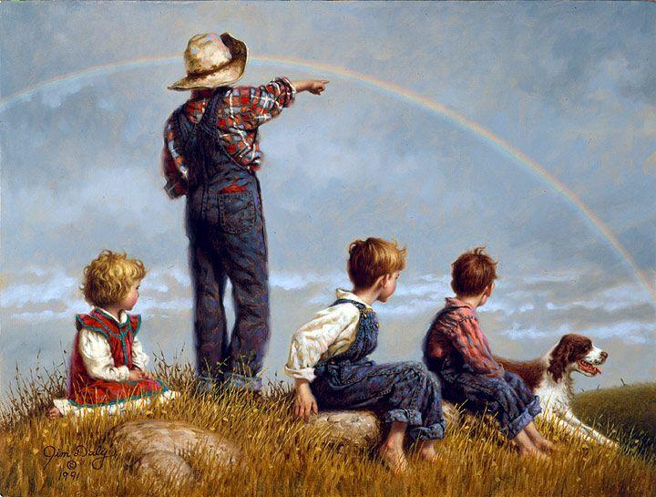 Follow The Rainbow - Jim Daly (+++)