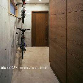 011船橋Kさんの家の部屋 玄関