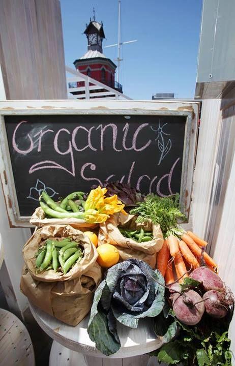 Keeping it %100 organic and fresh!