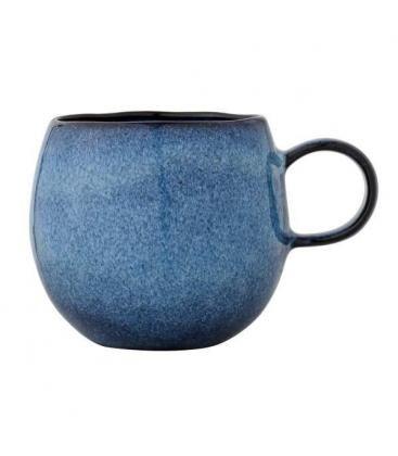 Bloomingville Sandrine grote Tas, blauw, 0,5L