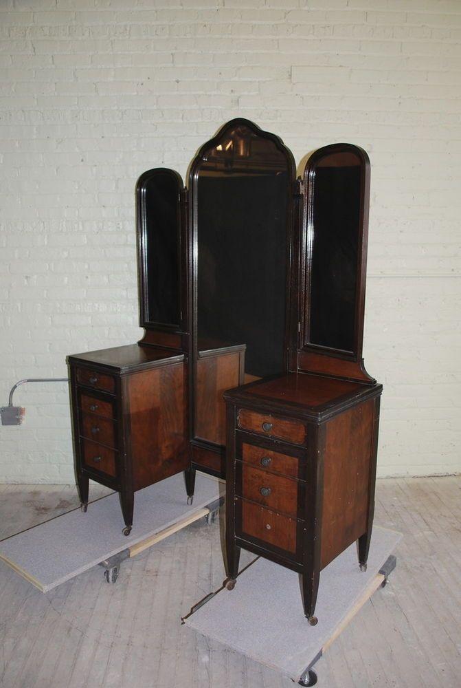 chicago antique furniture chicago antique mirror table - 671×1000