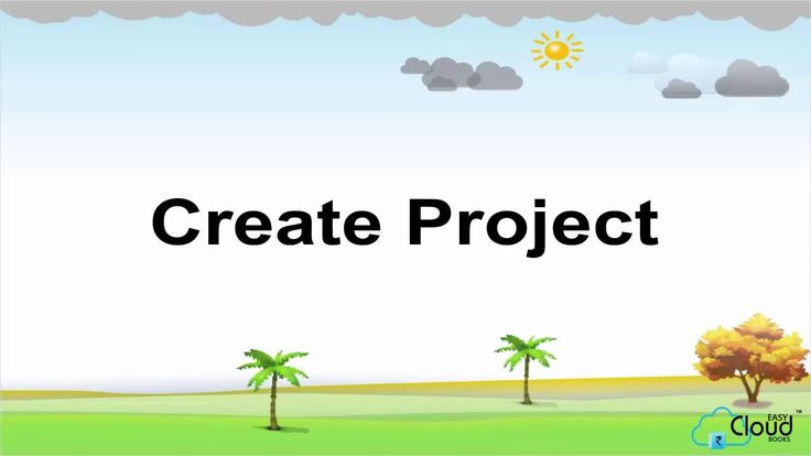 Create Project on Easycloudbooks.