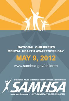 Celebrate Children's Mental Health Day May 9, 2012!!!