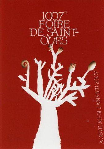 Valle d'Aosta - La Fiera di Sant'Orso (La Foire de Saint Ours) - Aosta - Manifesto 30/31 gennaio 2007