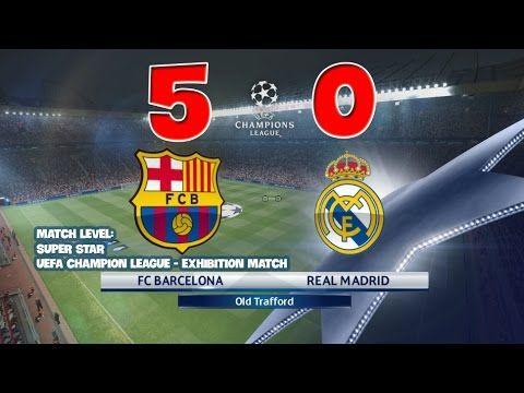Barca vs Real Madrid 5-0 [31/07/2016 - 31 July 2016] - Champion league E...