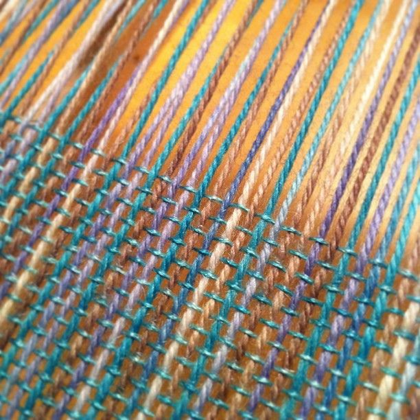 Weaving Tough Love Sock and Silk Mist on the Cricket loom. #weaving #handwoven #cricketloom #schacht | Flickr - Photo Sharing!