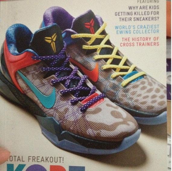 Nike Zoom Kobe VII 'What The Kobe' - SneakerNews.com