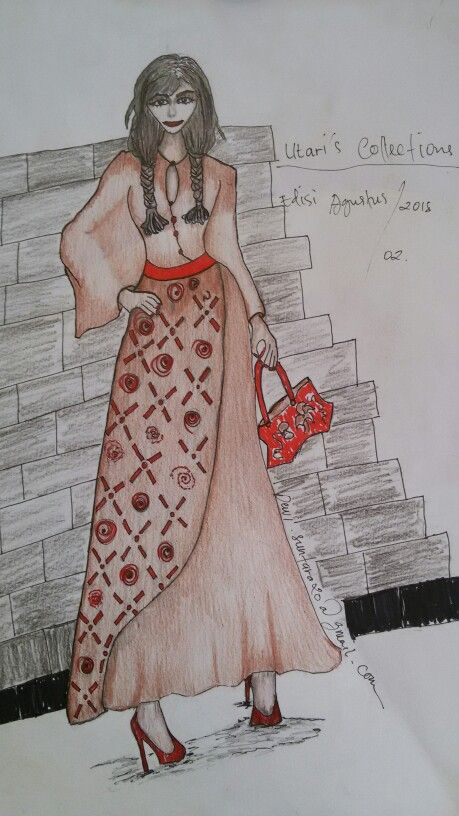 IDR 320.000 Madeindo Ilustrasi fashion design