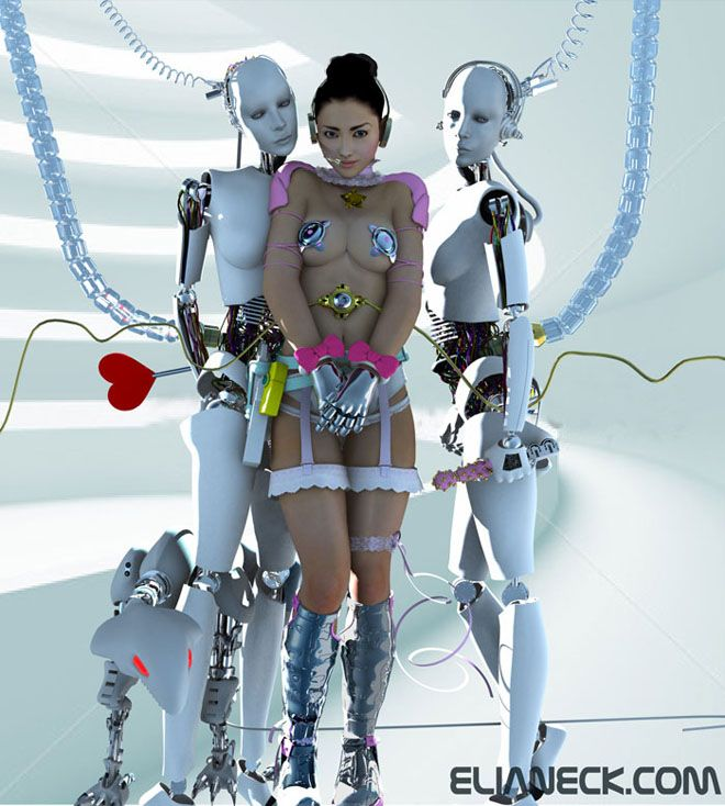 robot android fetish