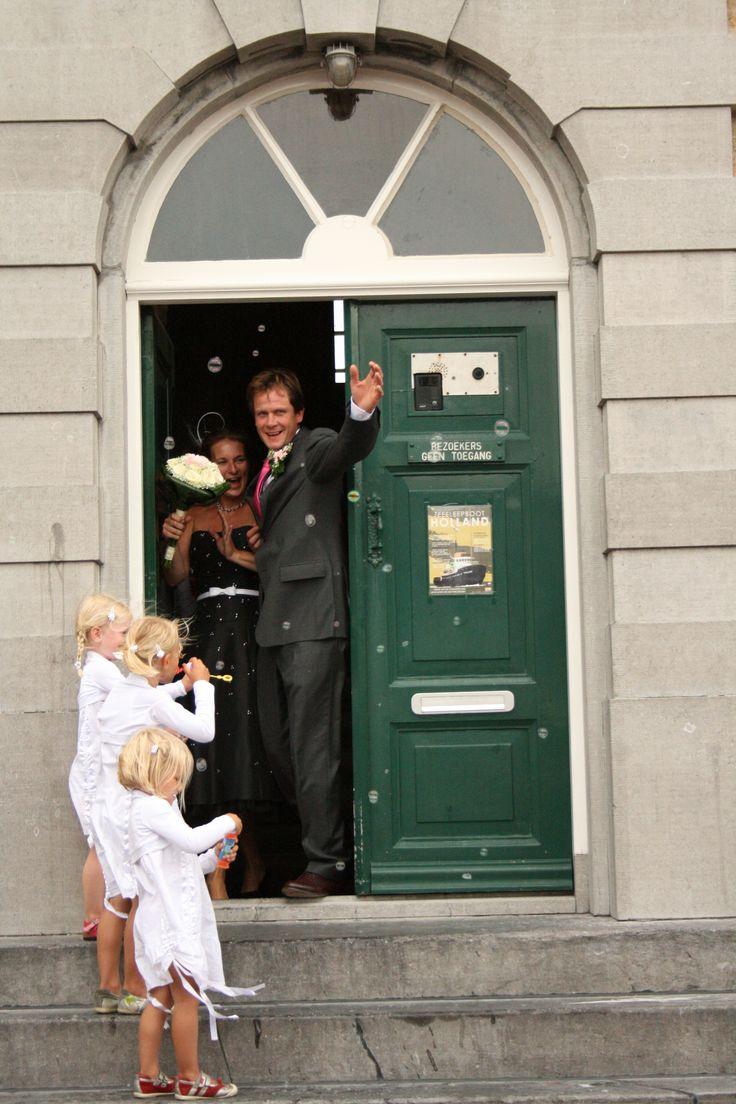Beautiful wedding on the island Terschelling, The Netherlands