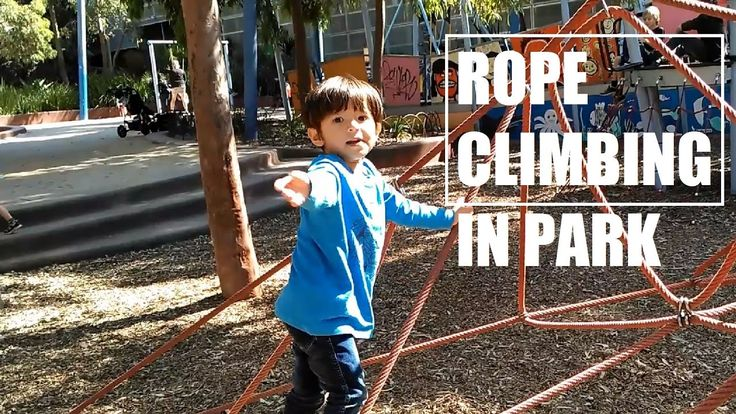 Rope Climbing in Park for Kids - Adventure Sports for Kids  Rope climbing is very awesome adventure outdoor sports or activity for 3+ years old kids. Climbing, sliding, balancing, etc are all fun we can find in this outdoor playground for kids.  #ArhamPlayTime