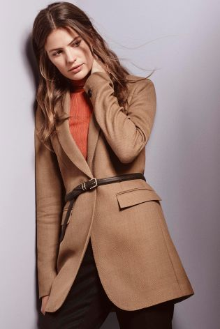 Buy Camel Textured Jacket from the Next UK online shop