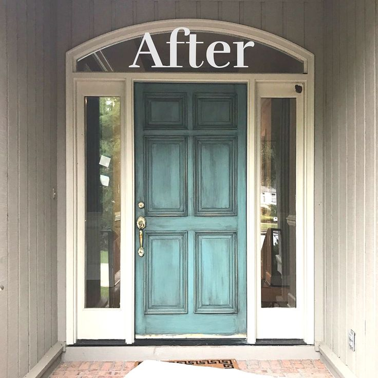 Amazing Using Chalk Paint On A Front Door Pictures Exterior Ideas