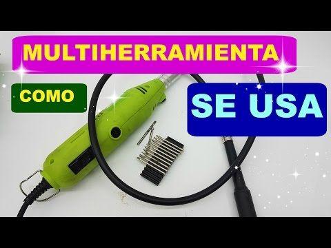 (63) Multiherramienta para grabar cristal , pulir, taladrar miniaturas, como se usa - YouTube