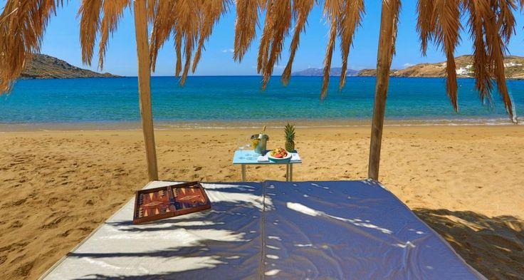 Ios Island Greece Freebeachbar Bar & Restaurant at Mylopotas beach
