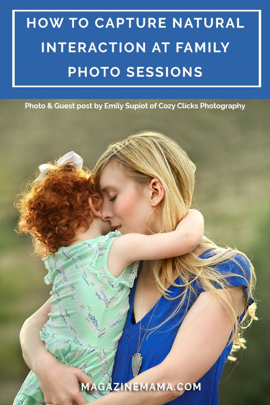 Photographing families can be a little tricky. Most families don't have professional pictures taken on a daily basis and are unsure of how to act and where to look. Emily Supiot of Cozy Clicks Photography Shares 3 Easy Ways to Capture Natural Interaction at a Family Photo Session. http://www.magazinemama.com/blogs/editors-blog/37378052-3-simple-ways-to-capture-natural-interactions-in-family-sessions
