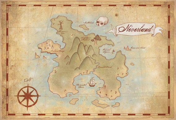 Map of Neverland