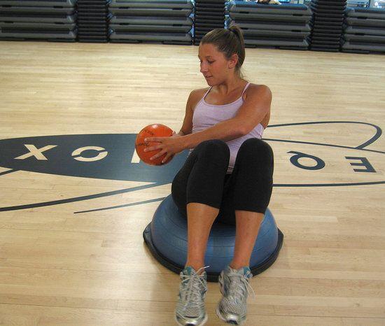Bosu Ball Side Plank: 17 Best Images About BOSU Workouts On Pinterest