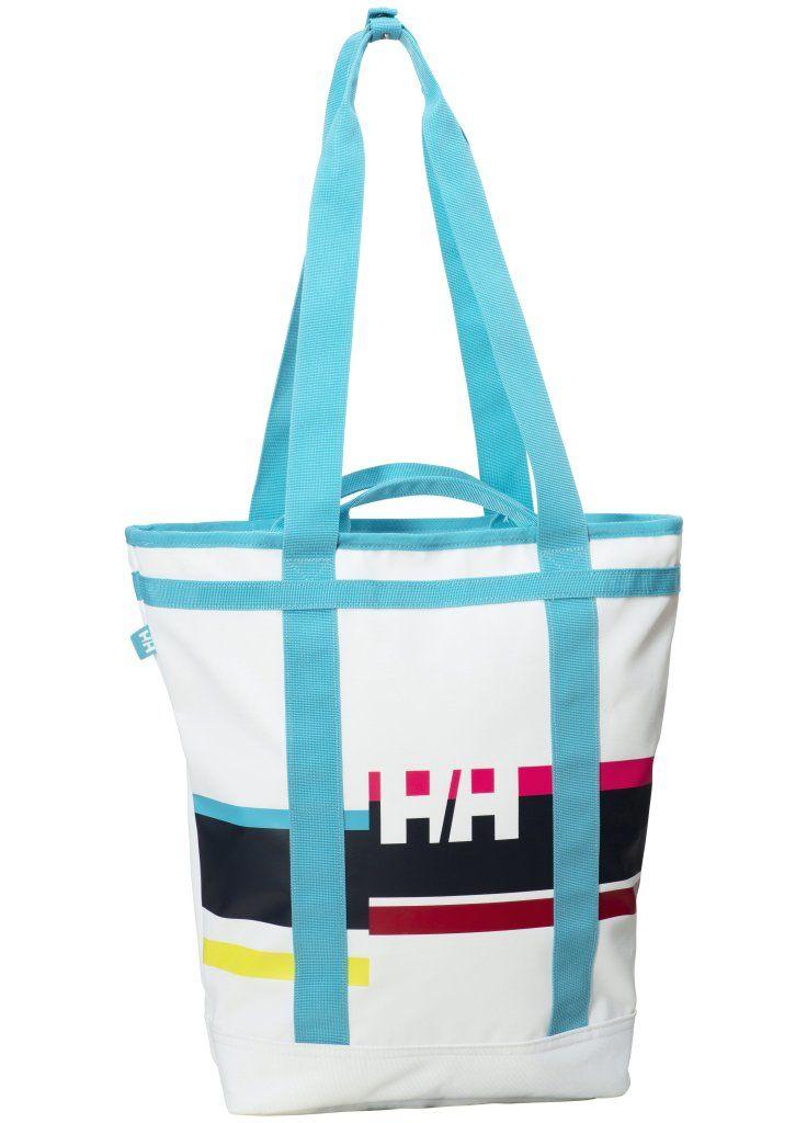 Sokoldalú női Helly Hansen válltáska. Vízlepergető anyagból készült praktikus,  univerzális női táska. Kézben, vállon és háton egyaránt hordható.