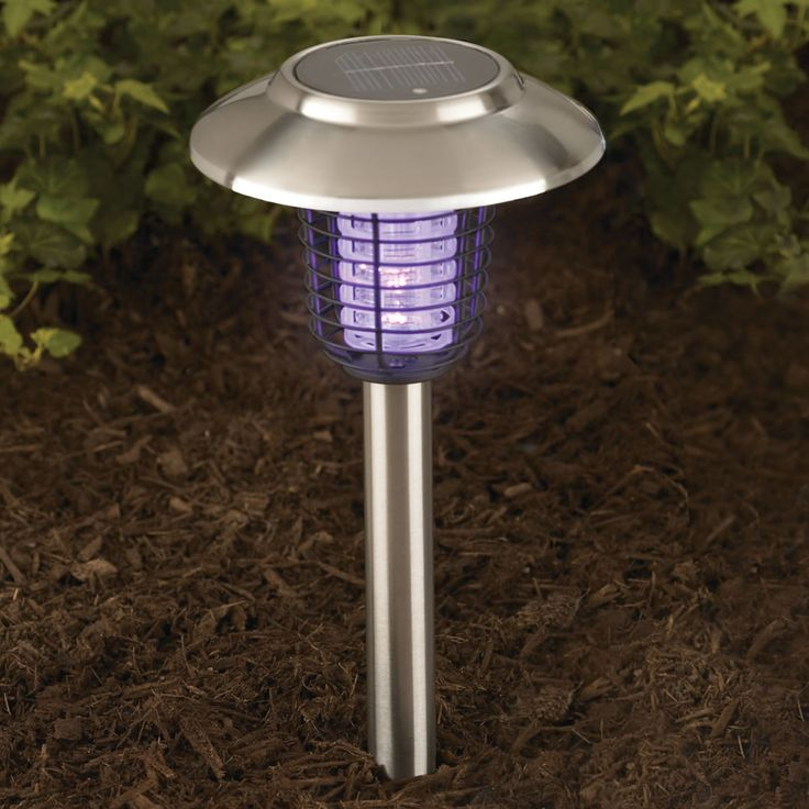 The Solar Insect Zappers Hammacher Schlemmer These