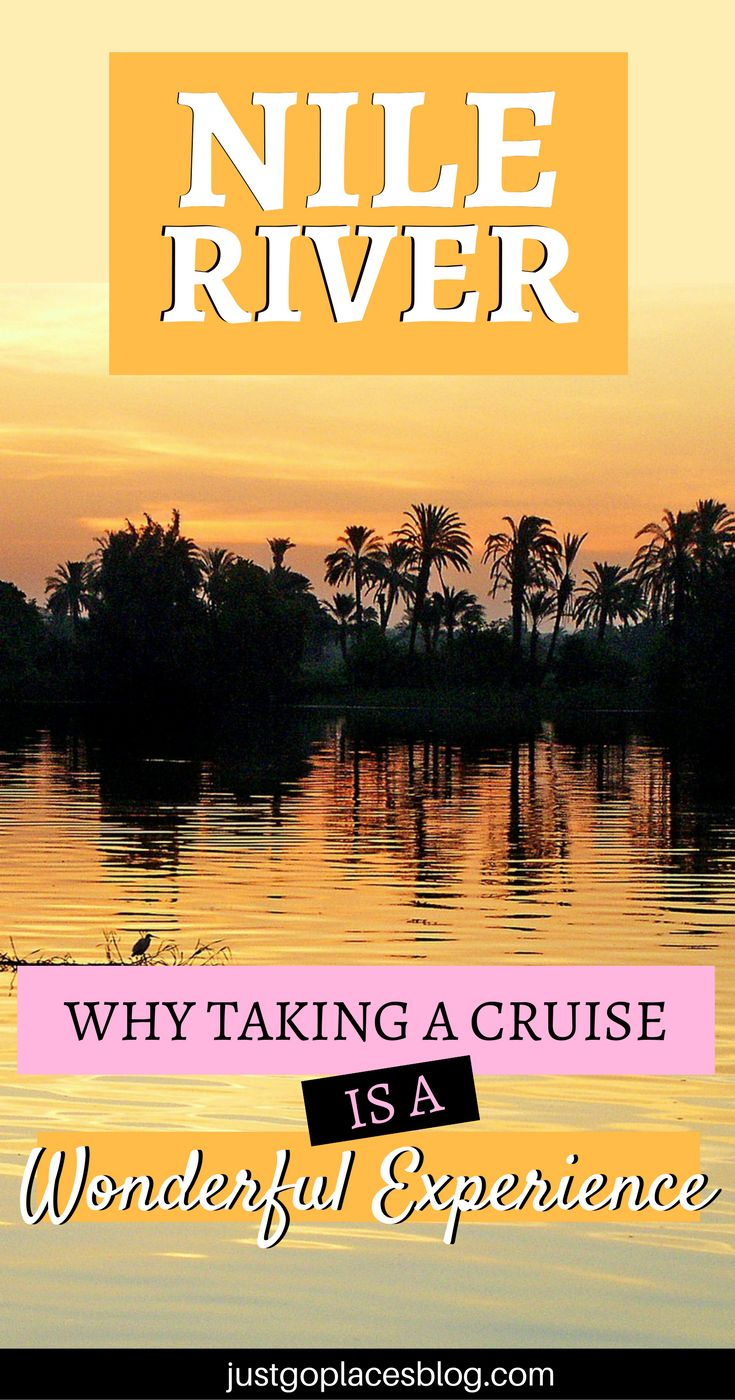 The Nile River, Egypt, is a place you'll never forget. The best way to enjoy? Taking a Nile River cruise. All you need to know about the experience. Nile river activities | Nile River temples - via @justgoplaces