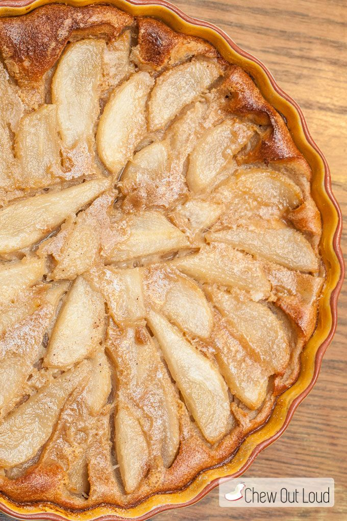 Julia Child's Pear Clafoutis