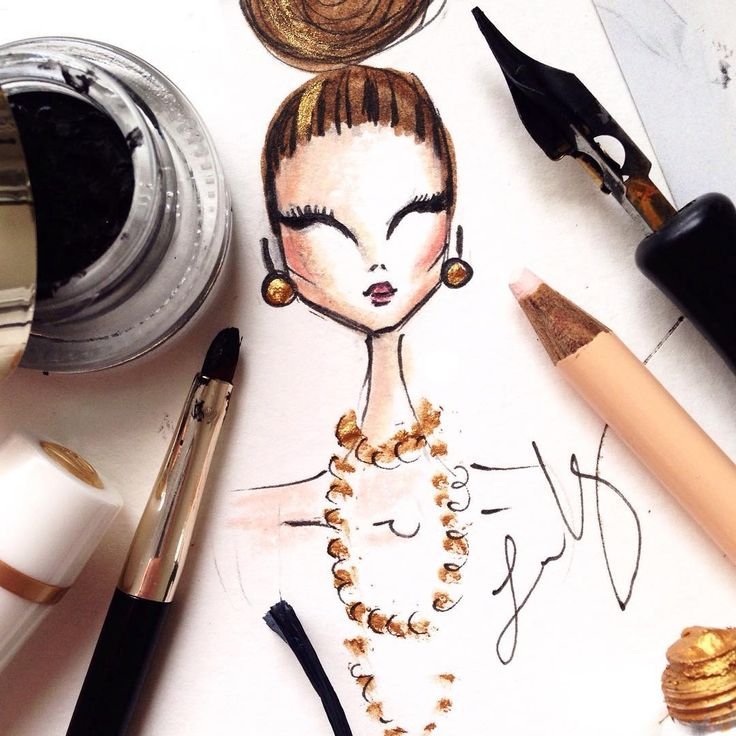 1000 Images About Fashion Illustrations On Pinterest: 1000+ Images About Face Illustrations On Pinterest