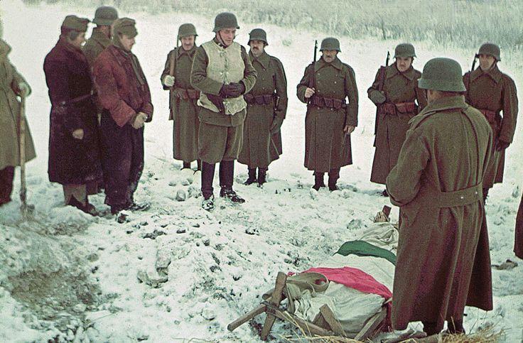 Katonai temetés.