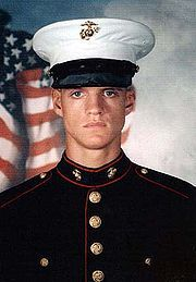 Jason Lee Dunham (November 10, 1981 – April 22, 2004) was a Corporal in the United States Marine Corps who earned the Medal of Honor while serving with 3rd Battalion 7th Marines during the Iraq War. While on a patrol in Husaybah, his unit was attacked and he deliberately covered an enemy grenade to save nearby Marines. When it exploded Dunham was seriously injured and died eight days later.